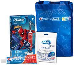 COB Kids3+ Spiderman ElectricRecharge System