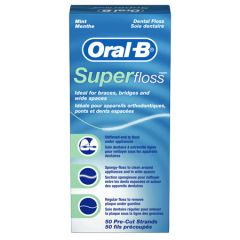 OB SuperFloss Office Pack Mint, 50ct
