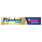 Fixodent Denture Products
